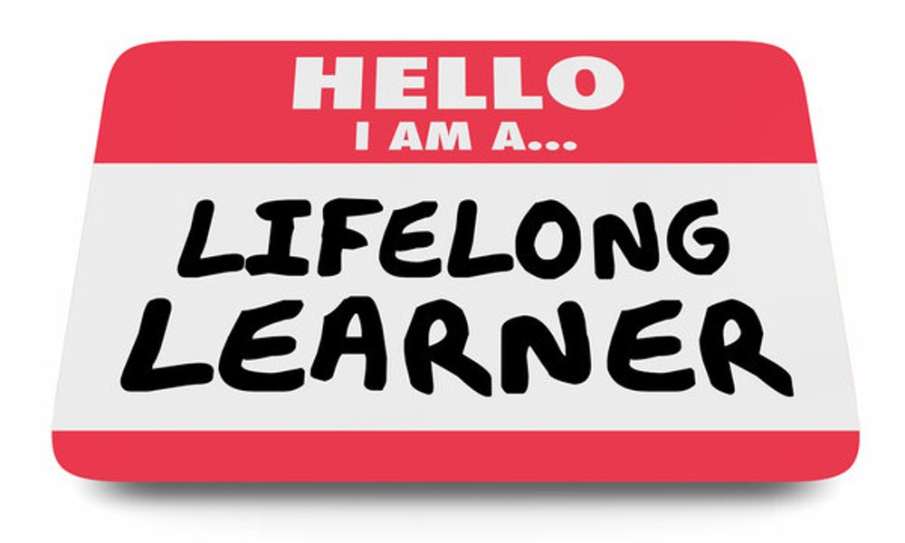 Never Stop Learning In Sales