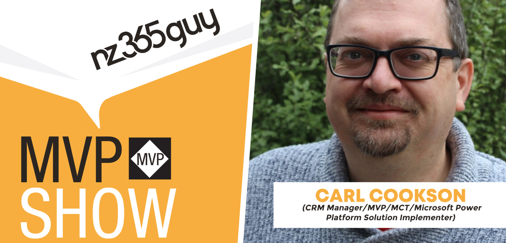 Carl Cookson on The MVP Show