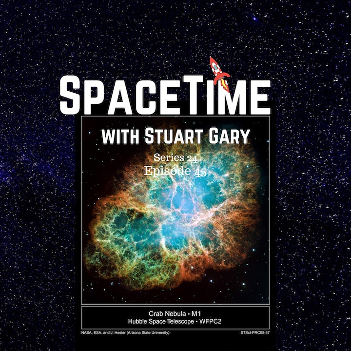 X-Ray Blasts Discovered Being Emitted by the Crab Pulsar | SpaceTime S24E45 Show Notes