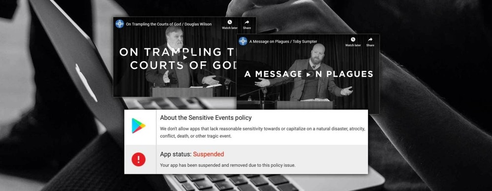 Tech Giants Begin the Crackdown on Unapproved Sermons as Churches Are Forced Online