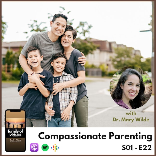 Compassionate Parenting with Dr. Mary Wilde Image