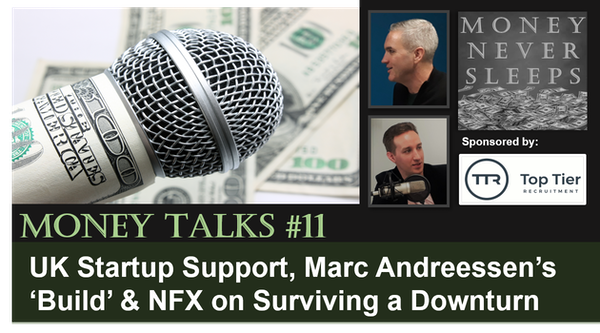 082: Money Talks #11: Startup Support, Marc Andreessen's Build & Survival from NFX Image