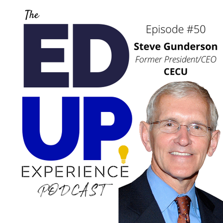 50: Shining a Light on For-Profit Education - w/Steve Gunderson, Former President/CEO of CECU Image