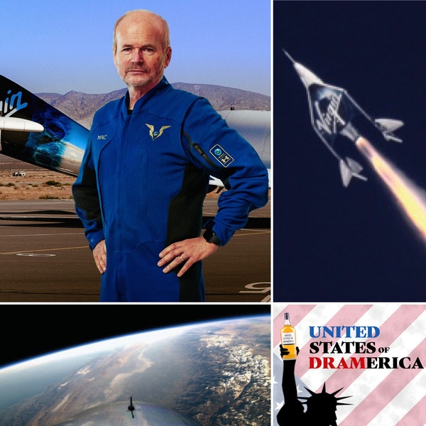 Episode 54 - David Mackay, Virgin Galactic Chief Pilot