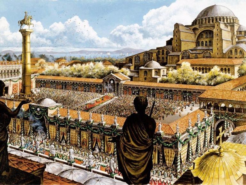 The Consecration of Constantinople