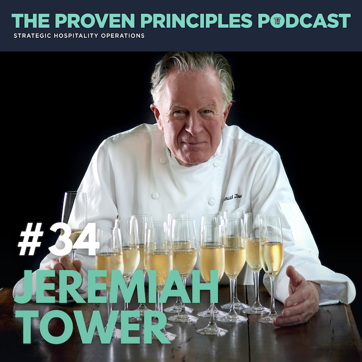 Episode image for Leadership and Building High Performing Teams: Jeremiah Tower, The Father of American Cuisine