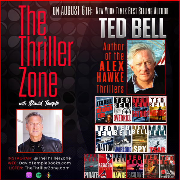 NY Times bestselling author Ted Bell Image