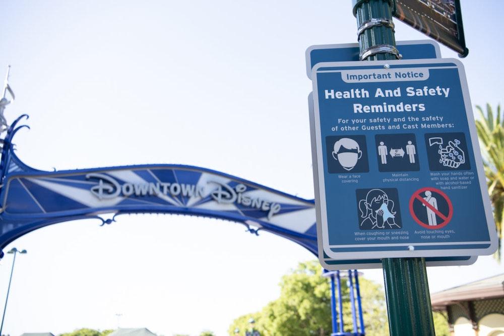 "Disneyland To Serve As Temporary COVID-19 ""Super POD"""