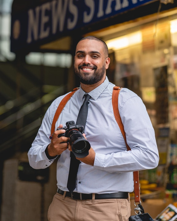 Social Media photographer Omar Alexander