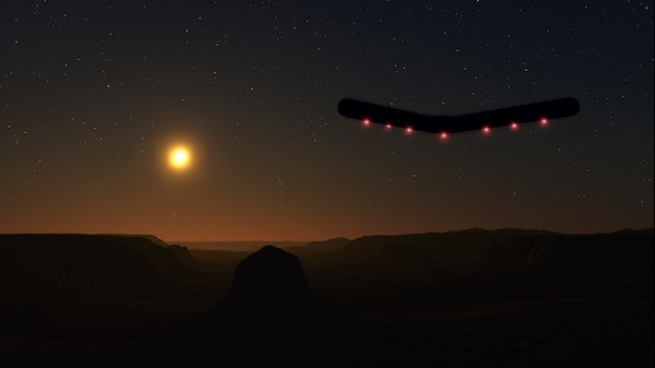 The Phoenix Lights Image