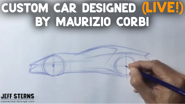 MAURIZIO CORBI CREATES A CAR IN FRONT OF OUR EYES! Image