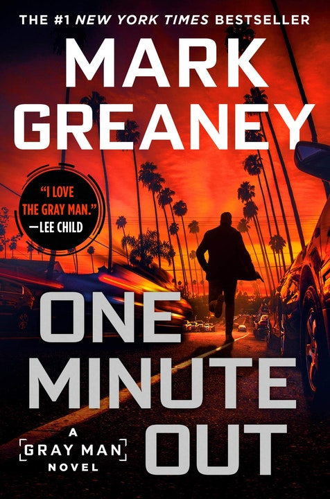 One Minute Out (A Gray Man Novel) Written by Mark Greaney, Reviewed by Shannon Wise