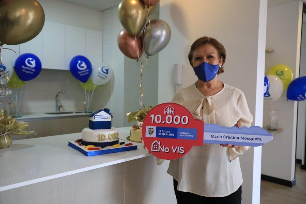 Banco de Bogotá entrega el subsidio 10.000 para la compra de vivienda No Vis