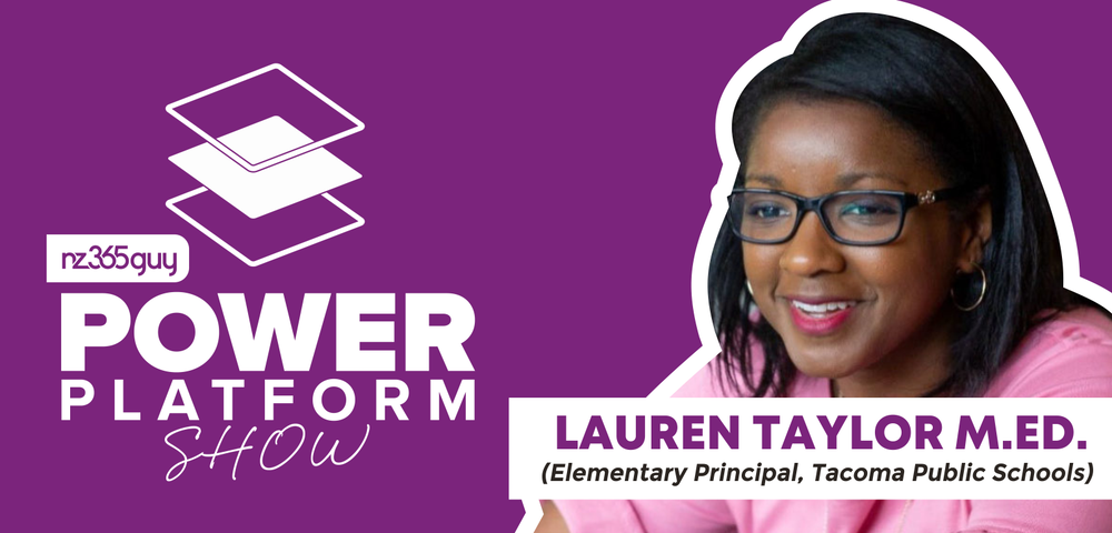Power Platform and Education with Lauren Taylor