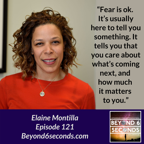 Episode 121: Don't believe everything you think – with Elaine Montilla Image