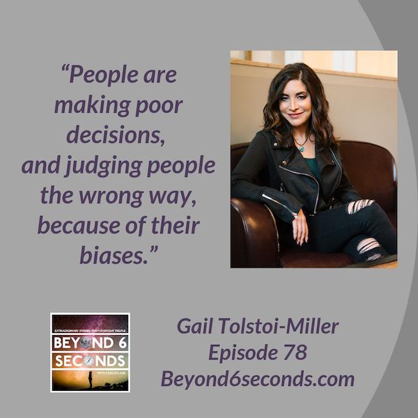 Episode 78: Gail Tolstoi-Miller– Busting unconscious bias in hiring Image