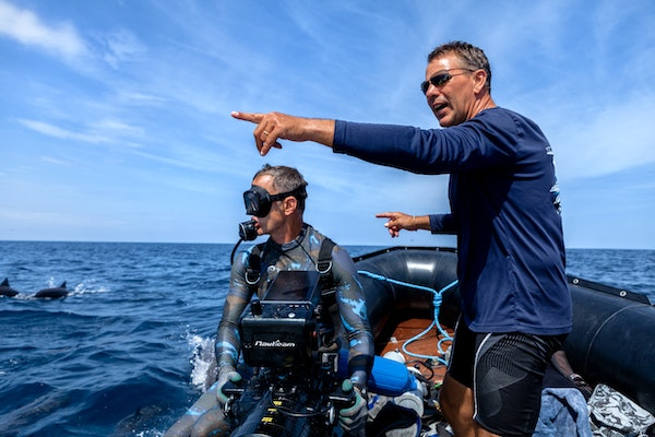 Capturing the Wonder of a Blue Planet: Hugh Pearson on filming iconic scenes from the oceans of our world Image