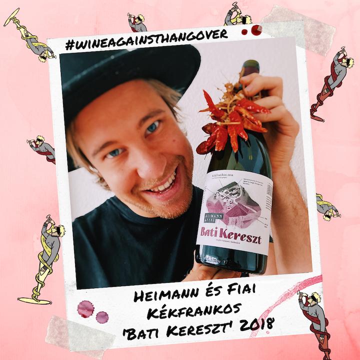 WAH #3 | Heimann & Fiai 'Bati Kereszt' Kékfrankos 2018 | Szekszárd, Hungary
