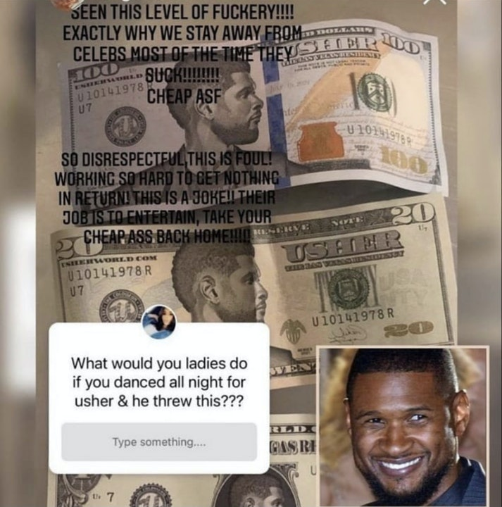 Usher Been Out Of Line