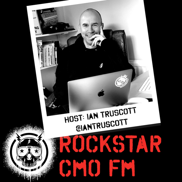 """Rockstar CMO FM #33: The Sabrina """"The Wordpress Witch"""" Chevannes, Robert Rose, and a Cocktail Episode Image"""
