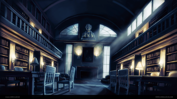 Most Haunted Library in North Carolina Image
