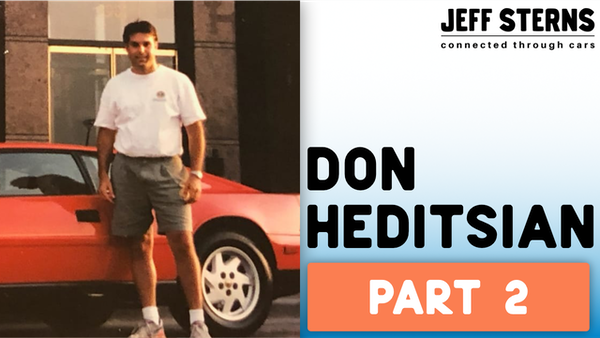 Don Heditsian-Part 2! 180 degree Lotus spin, brake loss-150mph-944 Turbo S, Derek Bell ride Le Mans! Image