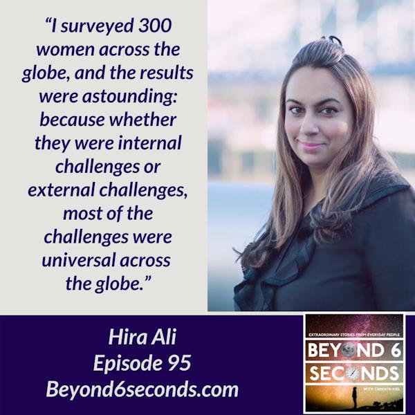 Episode 95: How Hira Ali helps empower women around the world Image