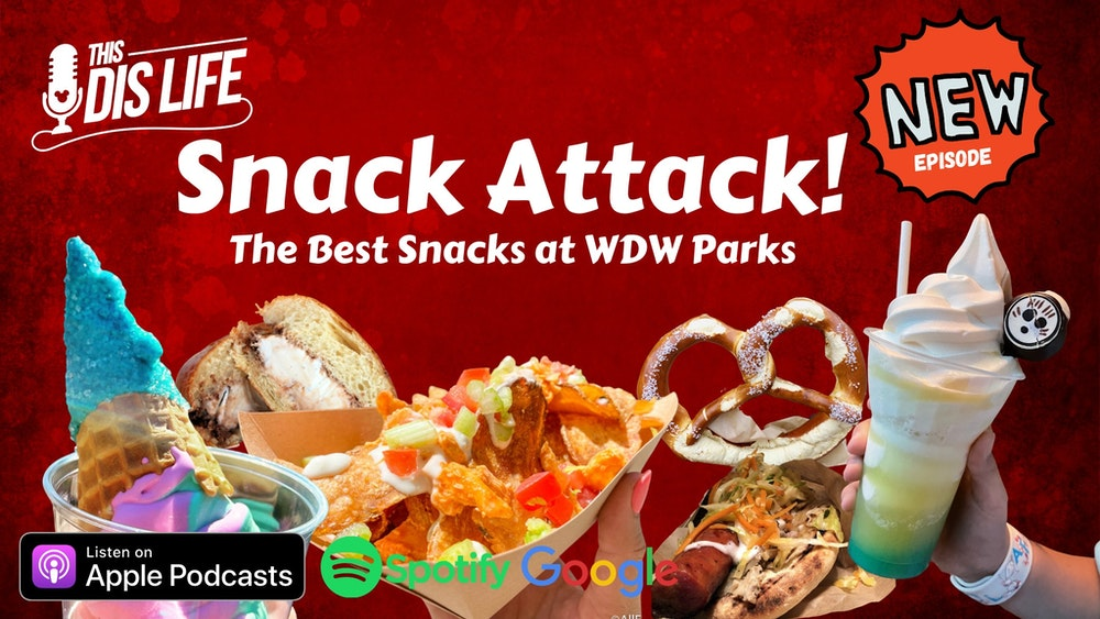 Snack Attack: Best Snacks at WDW Parks
