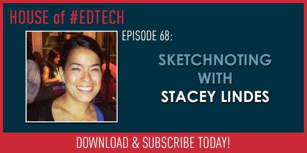 Sketchnoting with Stacey Lindes - HoET068 Image