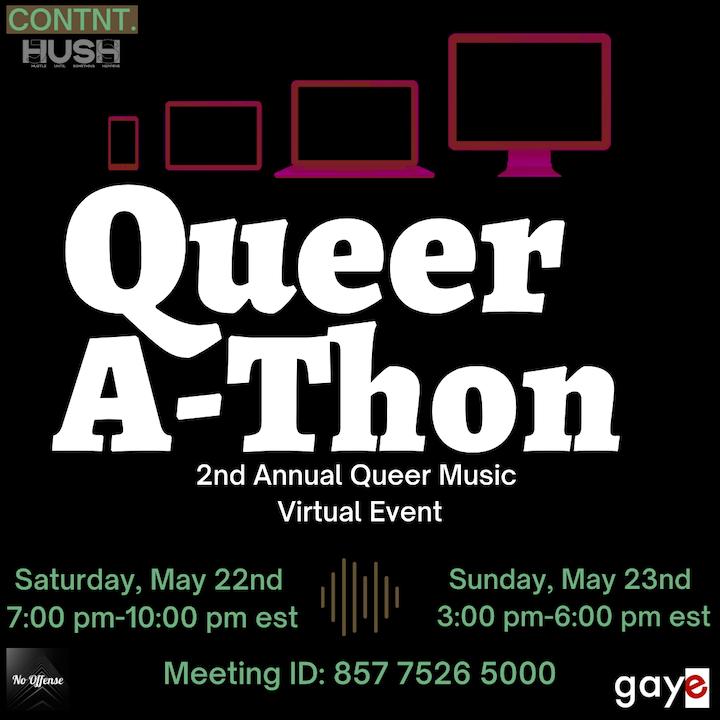 Queerathon LGBT Hip-Hop Festival is back!