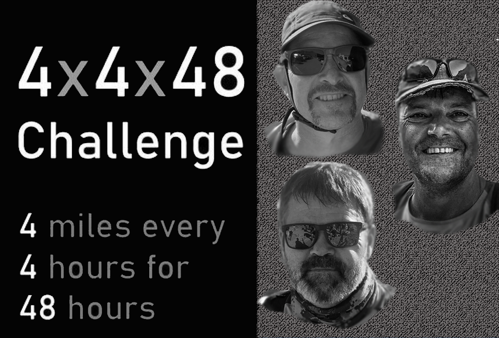 9 to go - 4x4x48