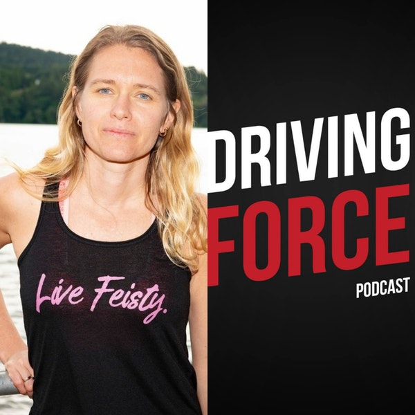Episode 55: Sara Gross, PhD - Founder & CEO of Live Feisty Media, Two-time Ironman Champion Image
