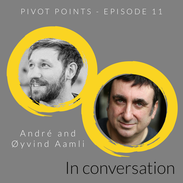 Pivoting through season 1 of Pivot Points (with Andre Radmall and Øyvind Aamli)
