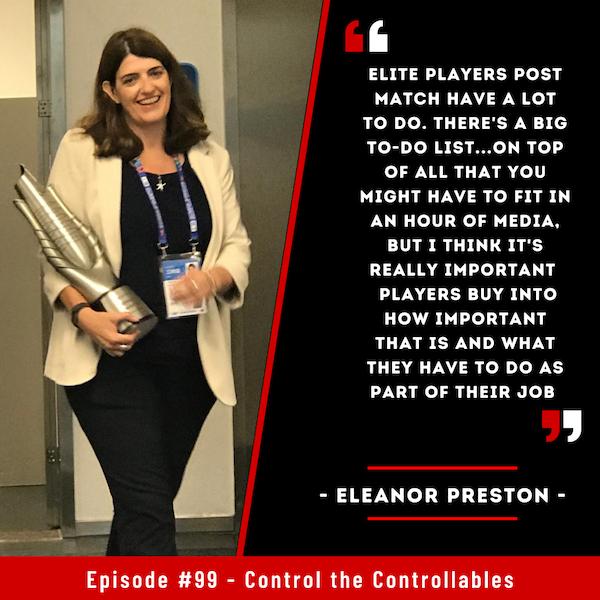 Episode 99: Eleanor Preston - Tiara's to Tennis