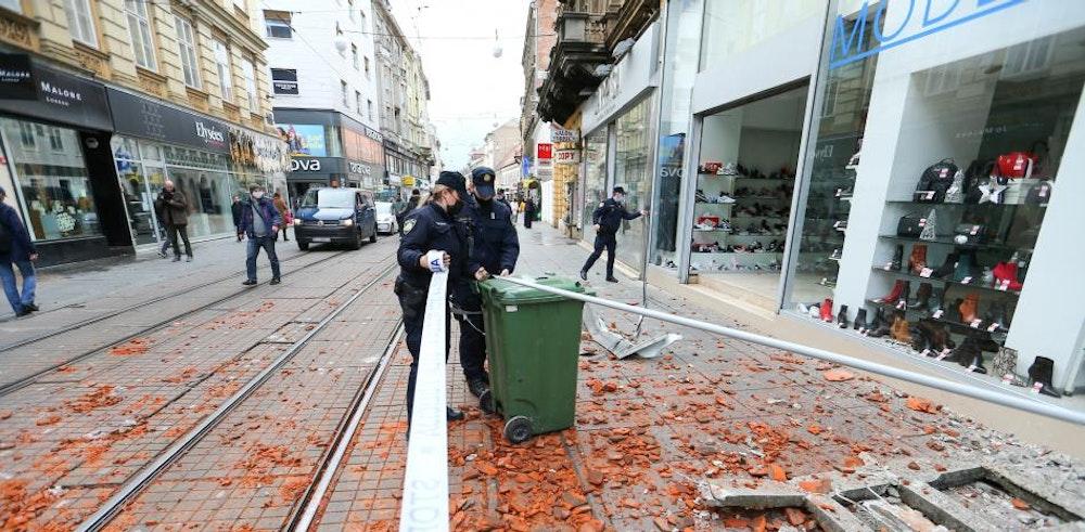 Fuerte terremoto sacude Croacia este martes