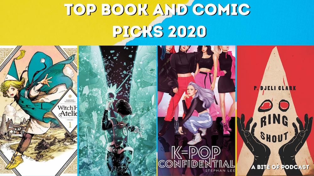 Top Book and Comic Picks 2020
