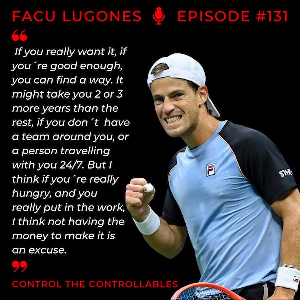 Episode 131: Facundo Lugones - Find a Way