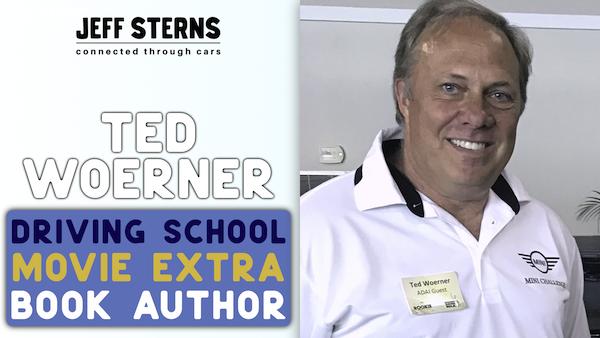 Ted Woerner | SAVAGE ANGEL author | Movie extra | MILES AHEAD MOTORING Image