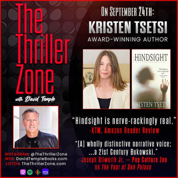 Author Kristen Tsetsi Image