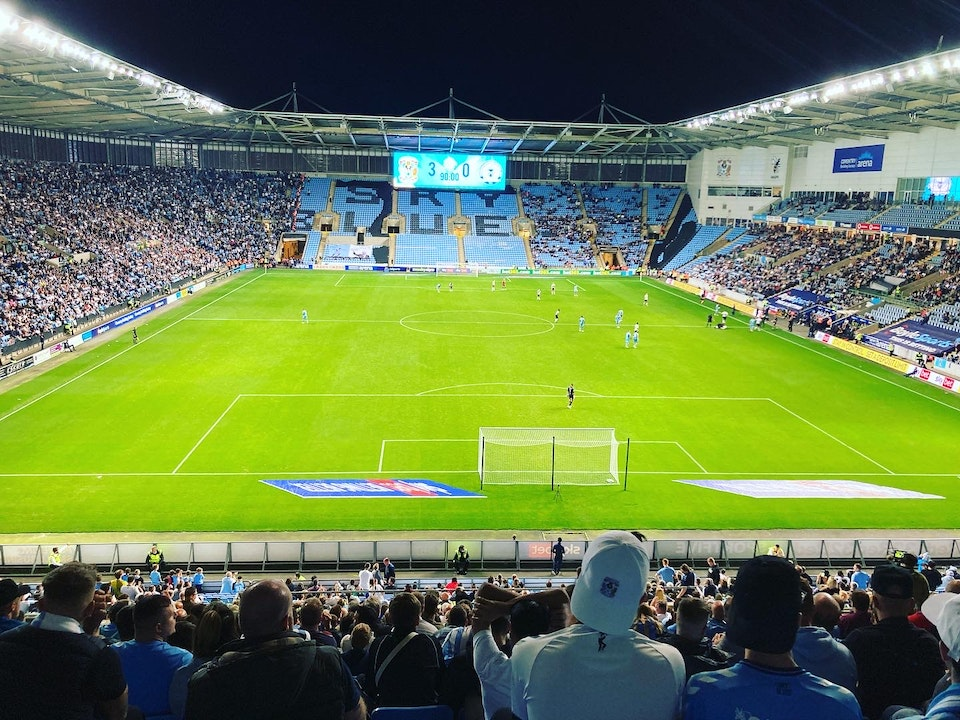 Total Cov Blog #10 - Coventry City 3-0 Peterborough United, 24.09.2021.