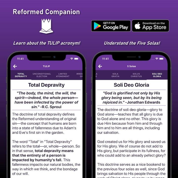 Reformed Companion (app)