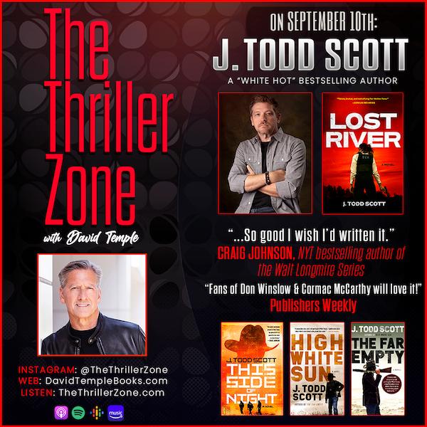 Thriller Writer J. Todd Scott Image