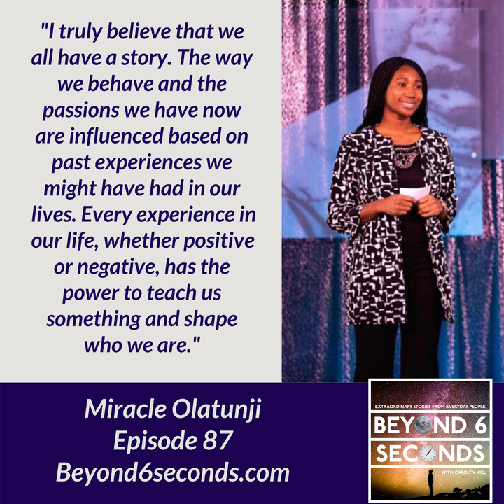 Episode 87: How Miracle Olatunji helps students start their careers