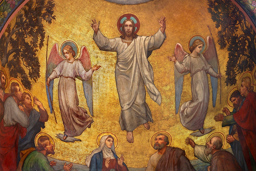 What does the ascension have to do with the atonement?