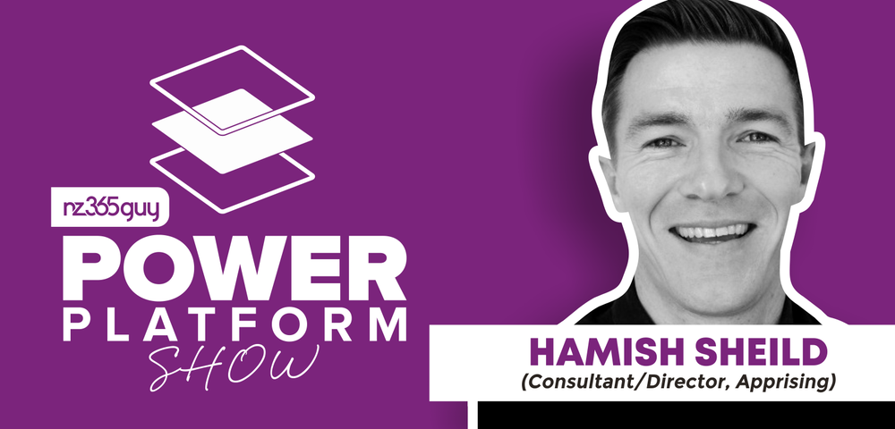 From Dynamics 365 to a Power Platform Startup with Hamish Sheild