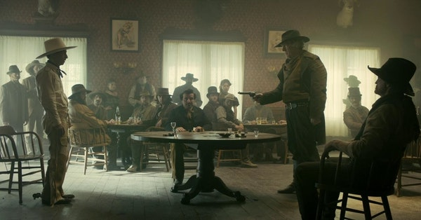 The Ballad of Buster Scruggs & Dr Who Image