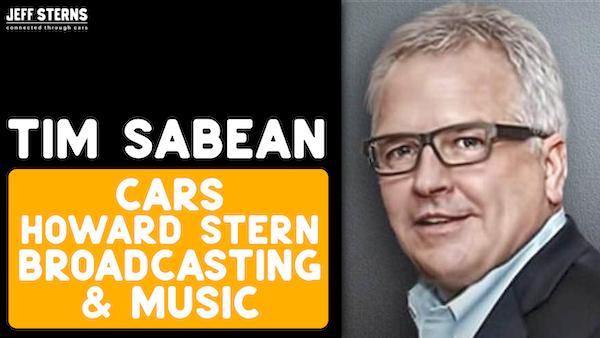 TIM SABEAN- Howard Stern VP Content | Cars | Joe Walsh | Paul McCartney | Don Henley | Beach Boys | Sammy Sosa Image