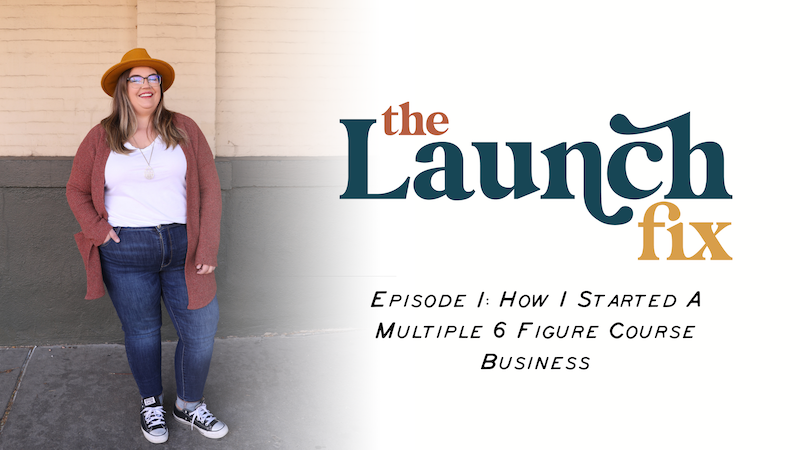 Episode image for Episode 1: How I Started a Multiple 6 Figure Course Business