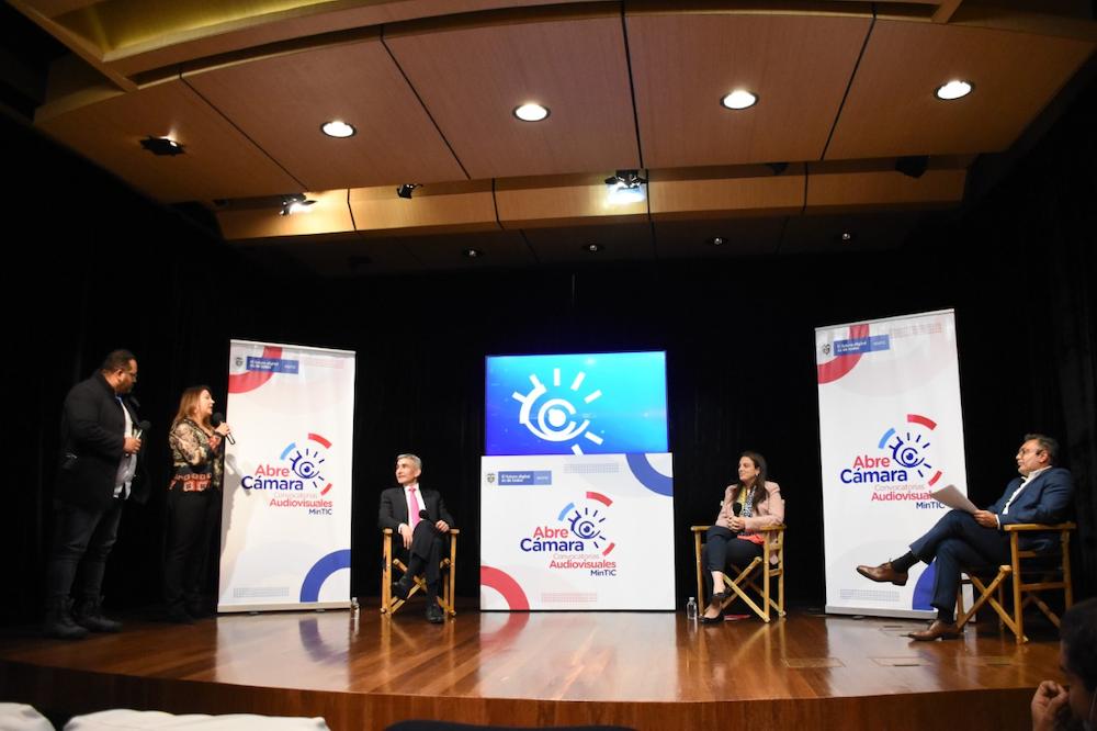 TV pública, ministra Karen Abudinen anuncia nuevas convocatorias para la creación de 91 proyectos audiovisuales en 2021