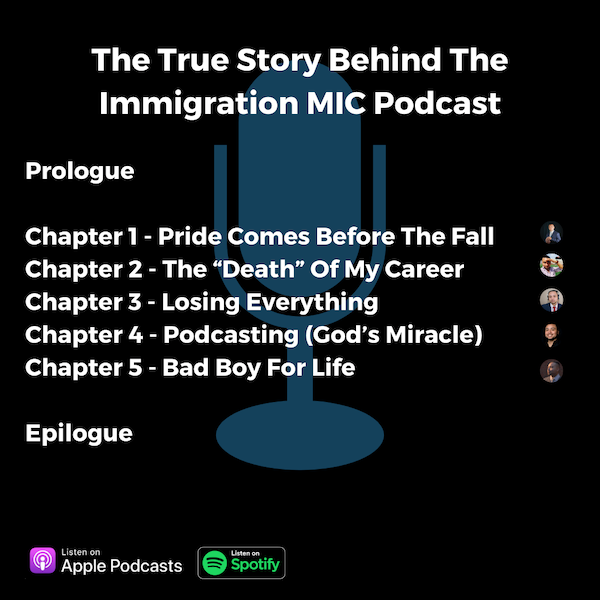 The True Story Behind The Immigration MIC Podcast Image